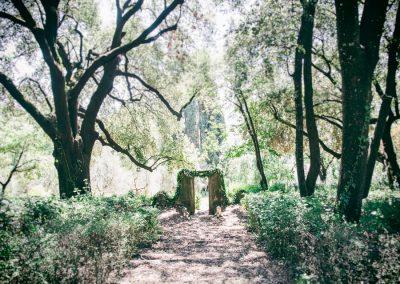 Outdoor Wedding at Villa Fontallerta