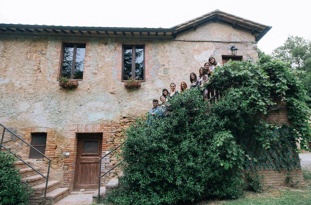 """Montalcino Wedding  Villa """"I Cappuccini"""""""
