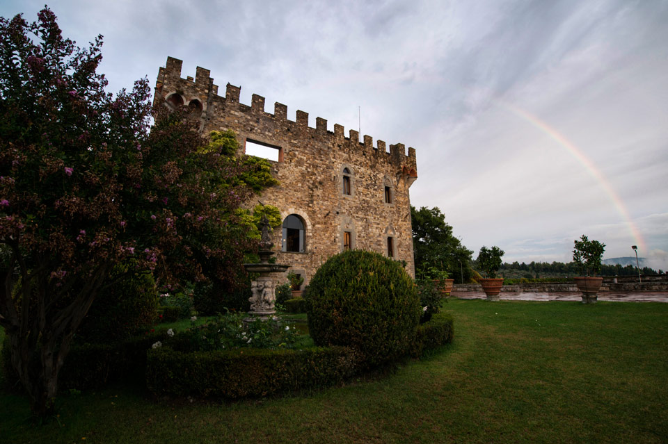 Wedding at Vincigliata Castle