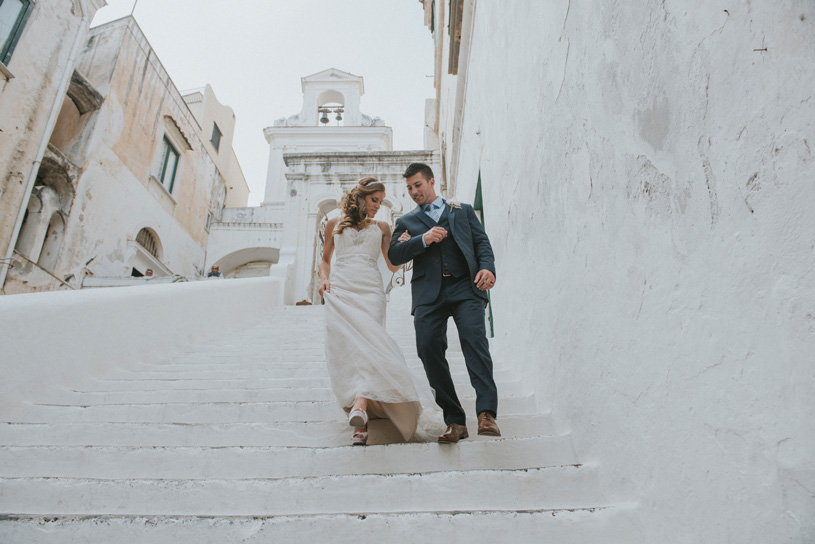 Elopement photography in Atrani, Amalfi Coast