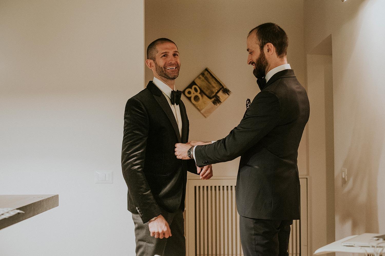Alexander McQueen groom outfit