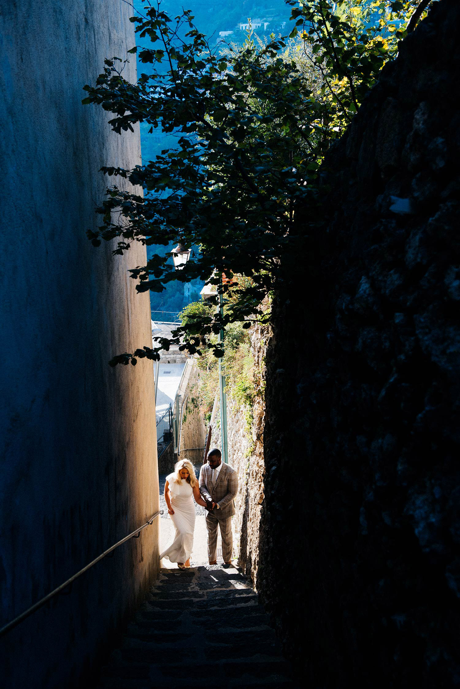 pre wedding fashion shooting ravello