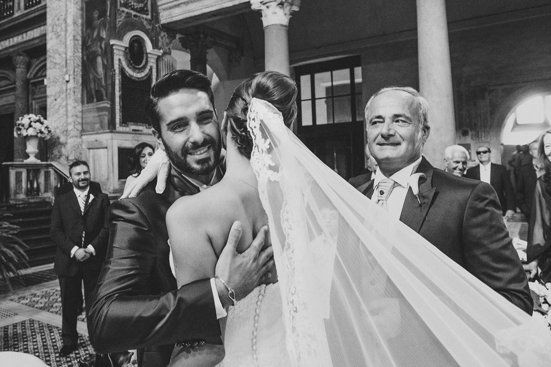 Church wedding rome