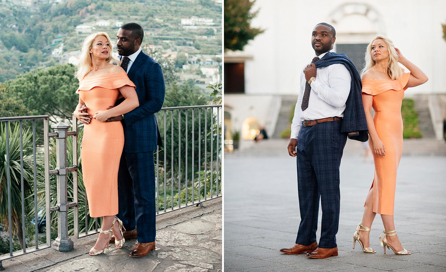 Pre Wedding Shoot Style Ravello Amalfi Coast