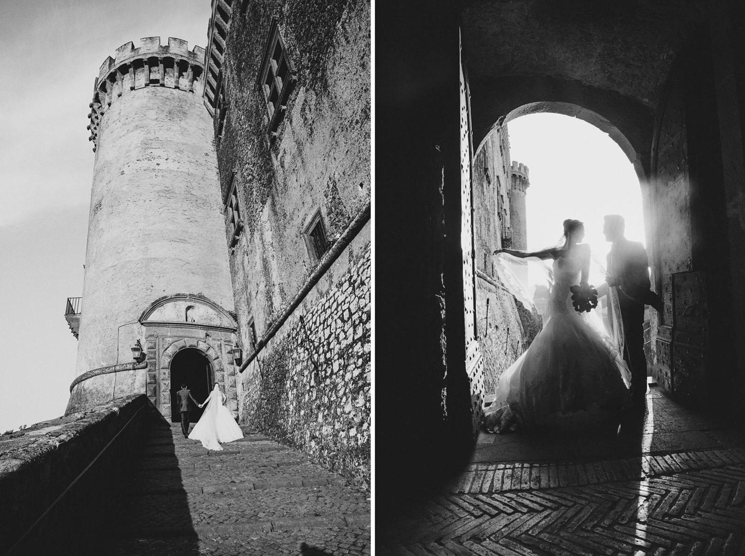 getting married at medieval Odescalchi Castle