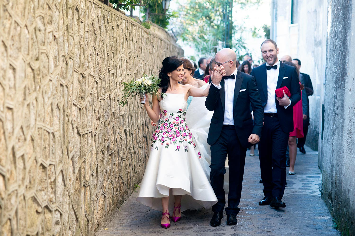 Lebanon Wedding in Villa Cimbrone