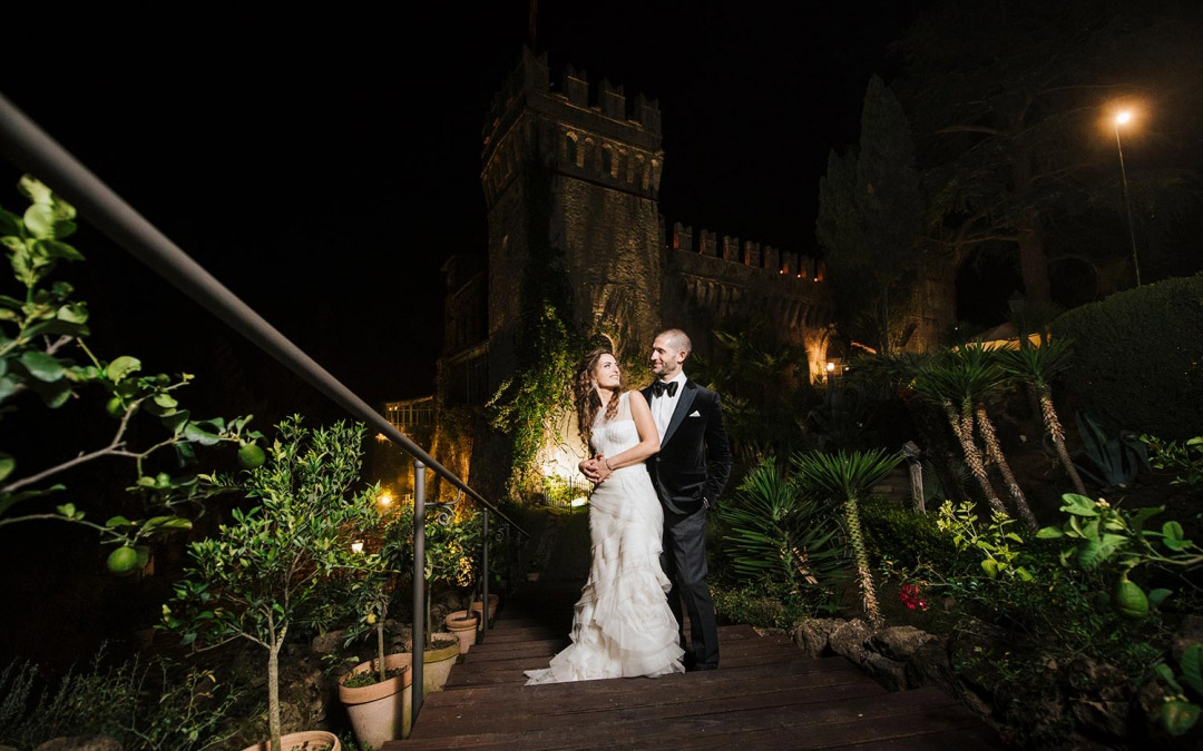 Fairytale wedding at Tor Crescenza Castle