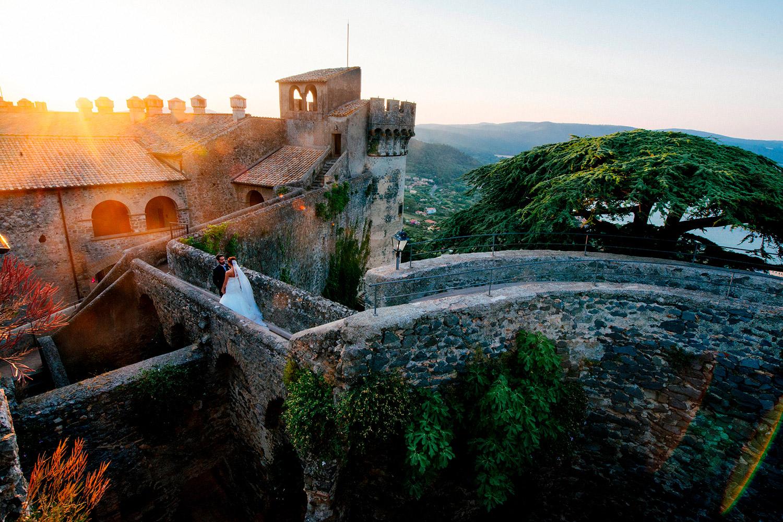 Wedding in a castle Italy