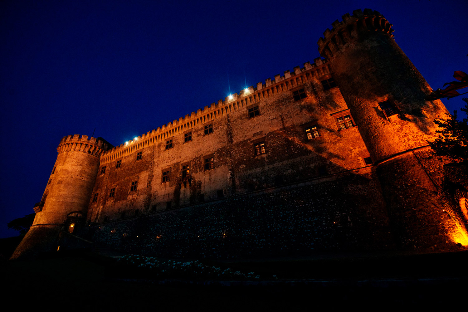 Odescalchi Castle by night
