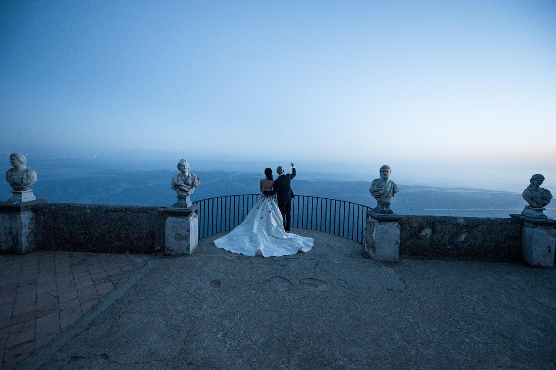 Infinity terrace Villa Cimbrone Ravello