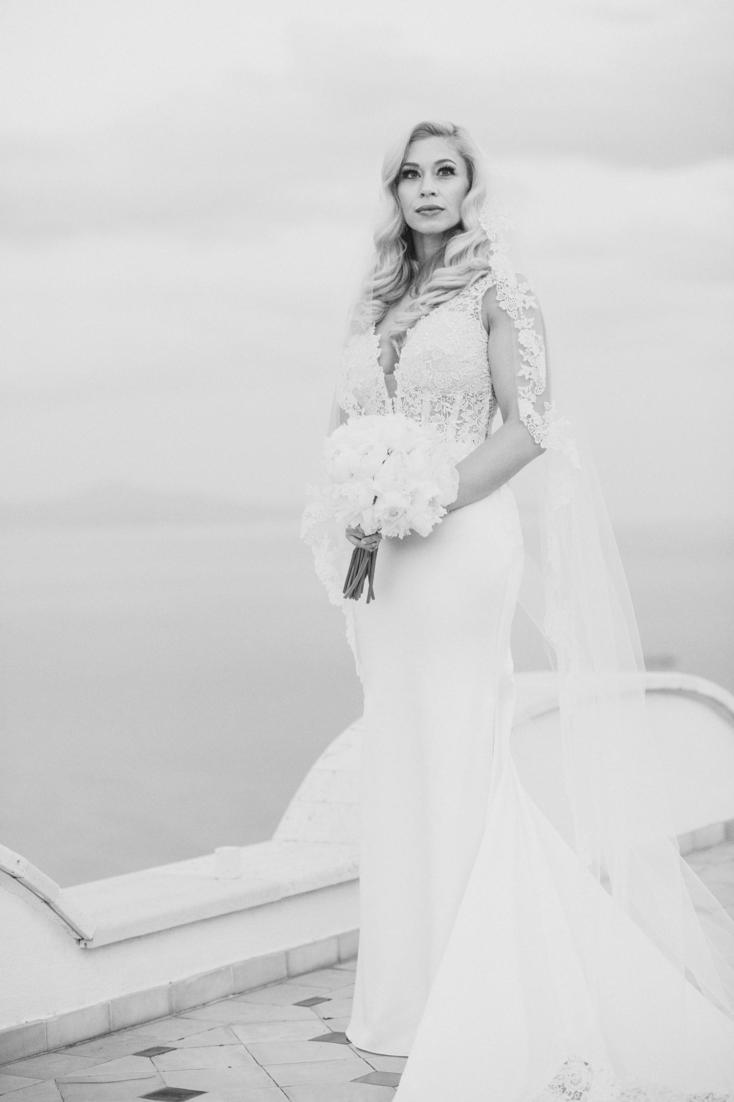 fashion bride portrait