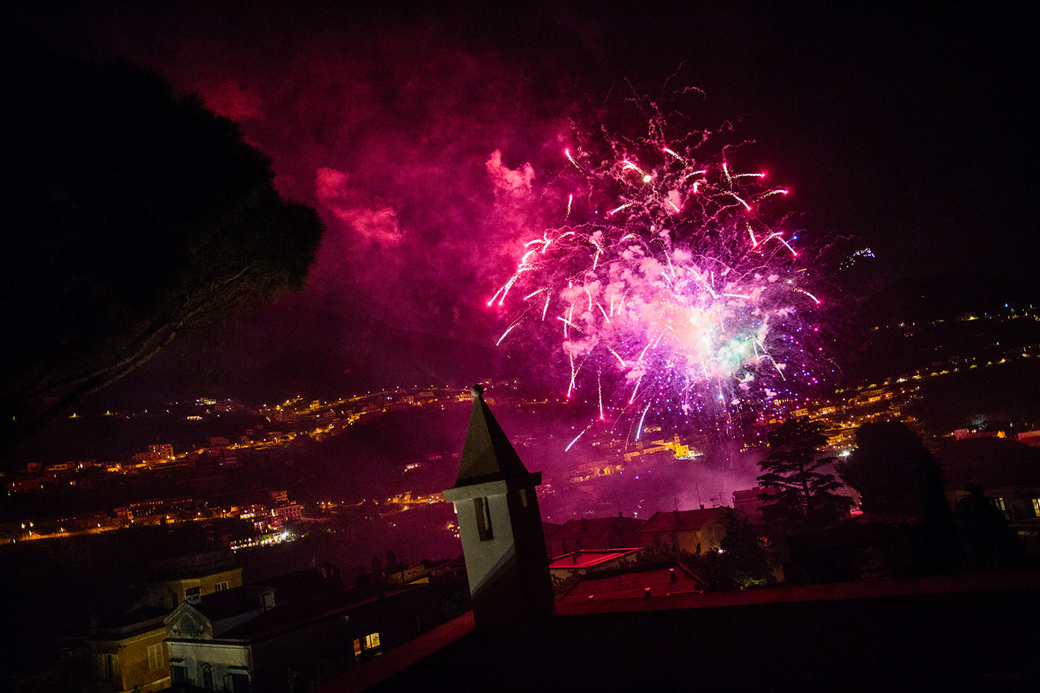 wedding fireworks ravello