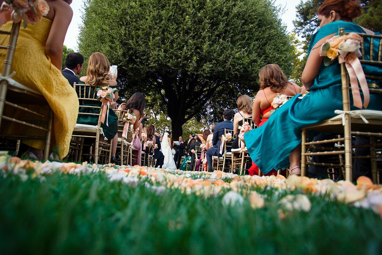 Secret Garden Ceremony Villa Aurelia