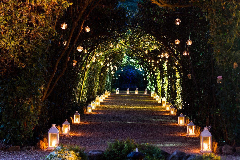 The spectacular surroundings at Villa Aurelia