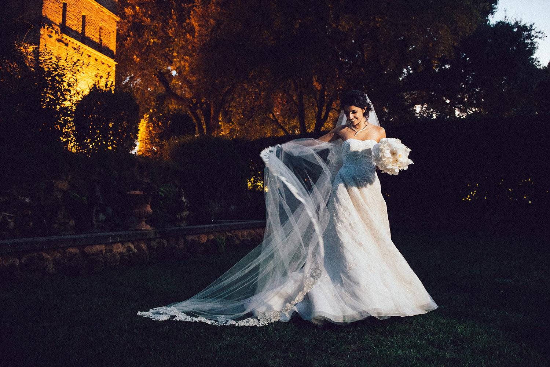 Oscar de la Renta bridal dress
