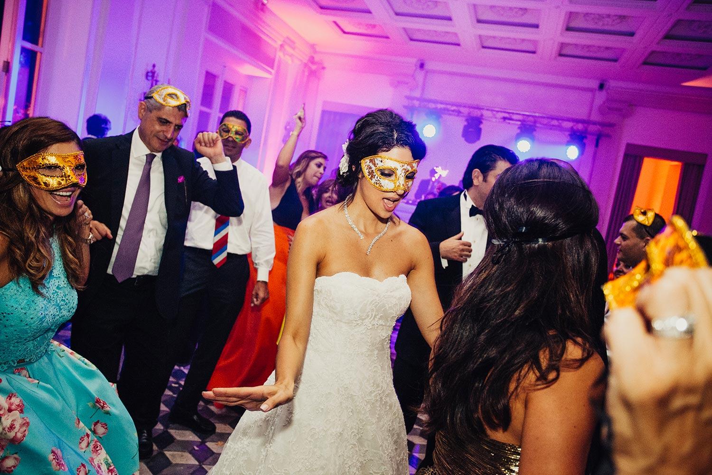 wedding party indoor villa aurelia
