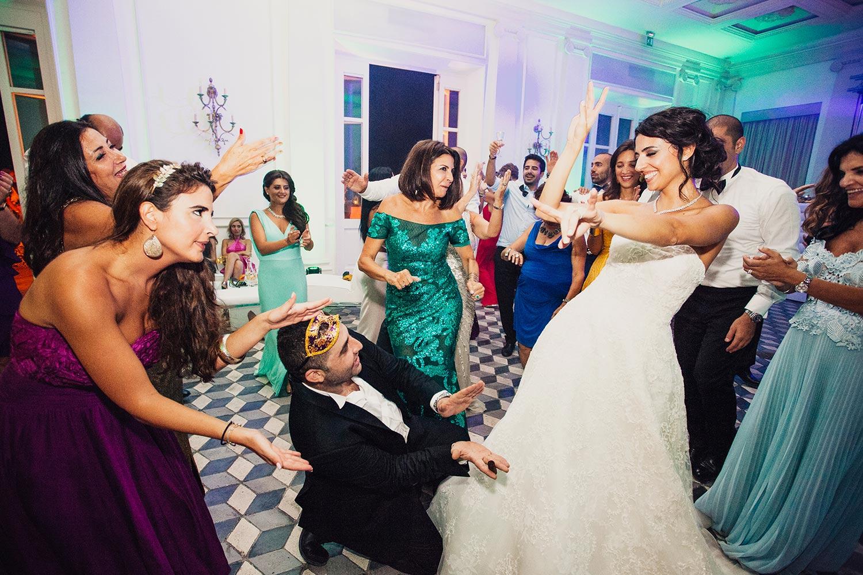 indoor wedding partu villa aurelia