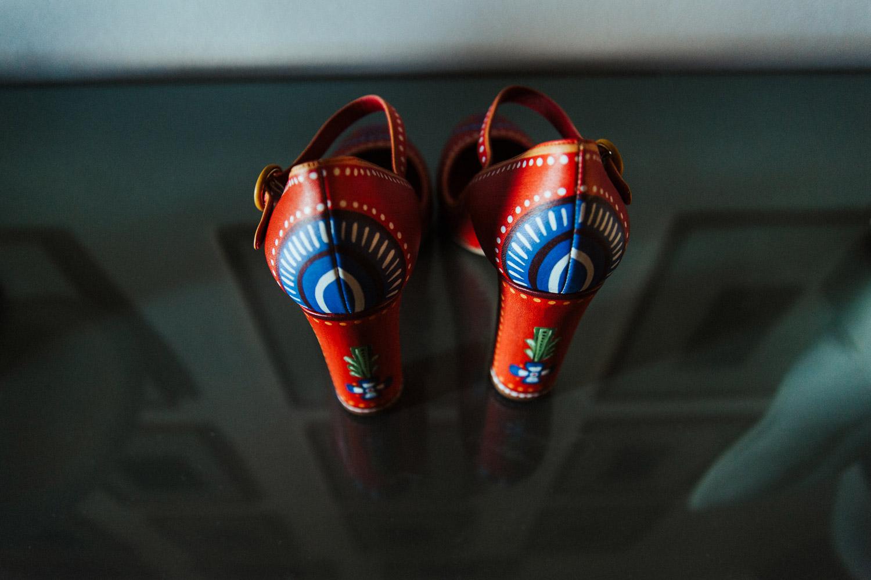 Dolce and Gabbana folk shoes