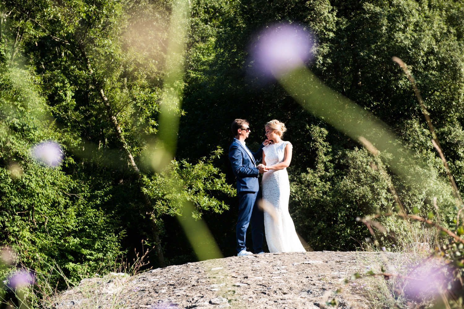 wedding photos tuscany countriside
