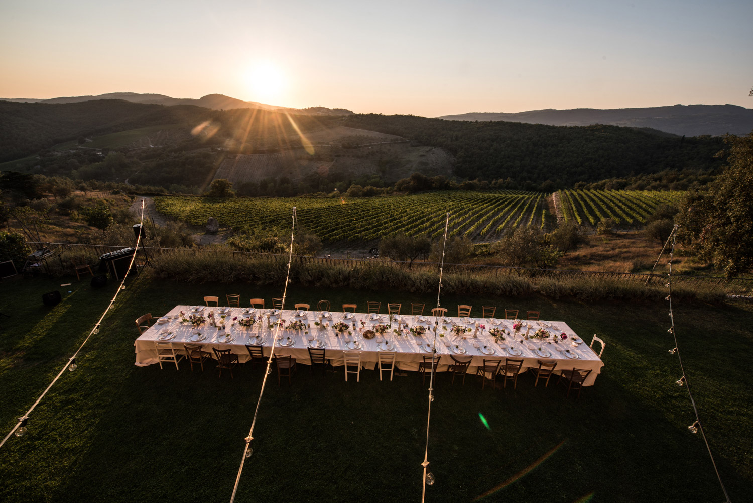 dining alfresco tuscany