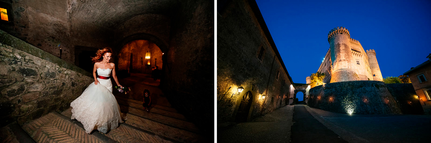 high profile weddings at Castello Odescalchi Bracciano