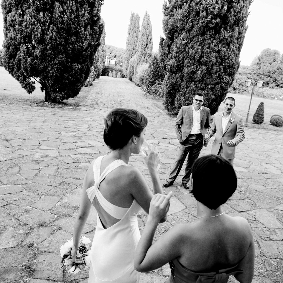 Wedding in Appia Antica Road
