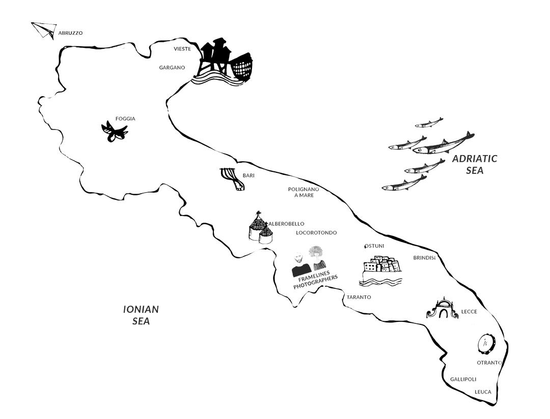PUGLIA-ITINERARIES