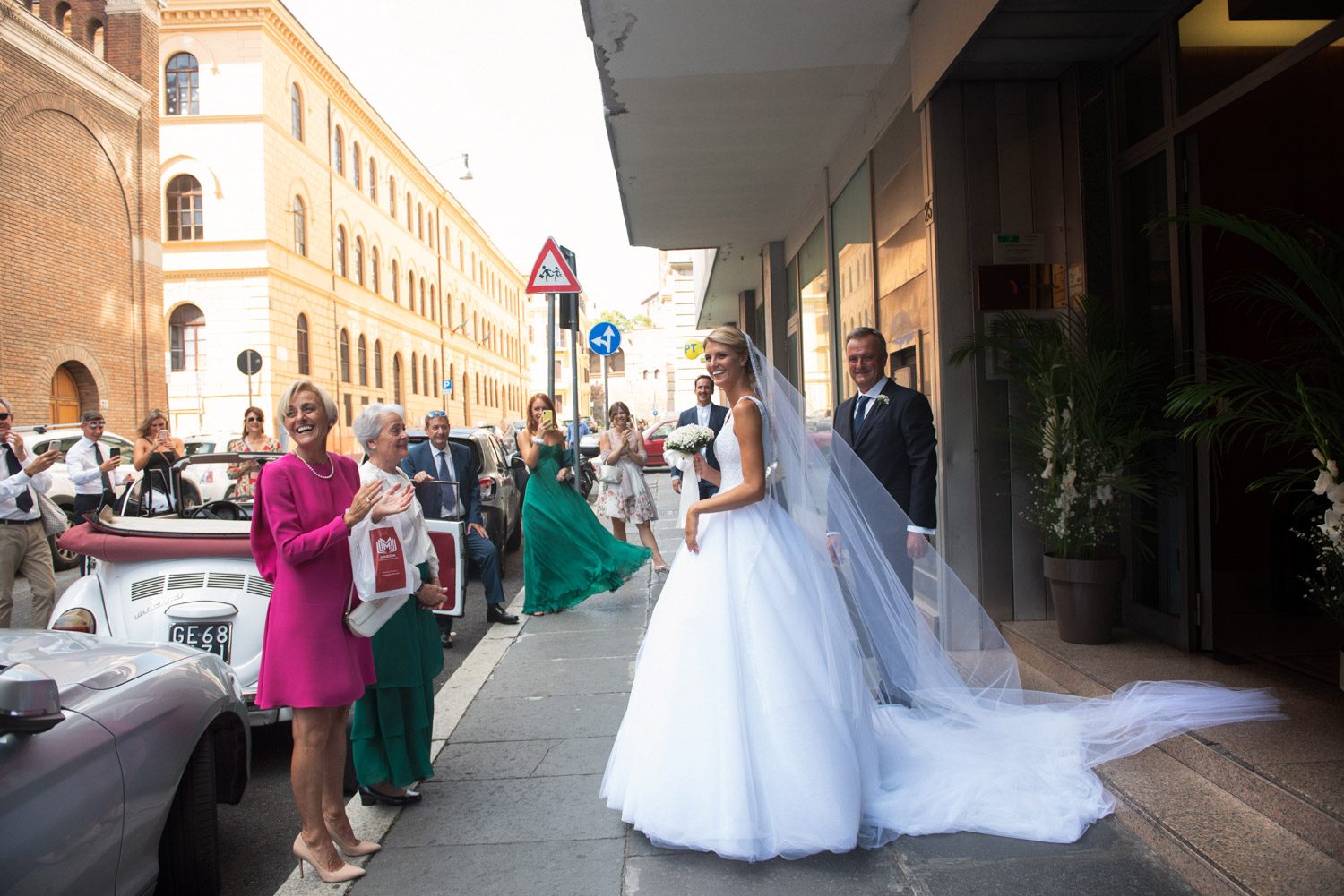 elegant wedding rome