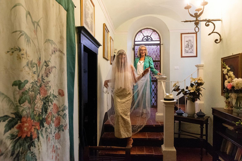 vintage 50s bridal dress