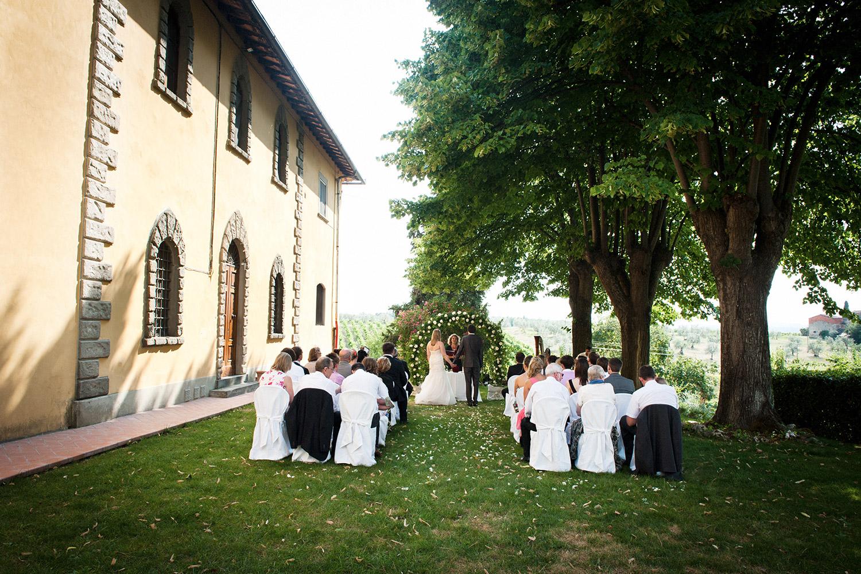 Castello il Palagio wedding in San Gimignano