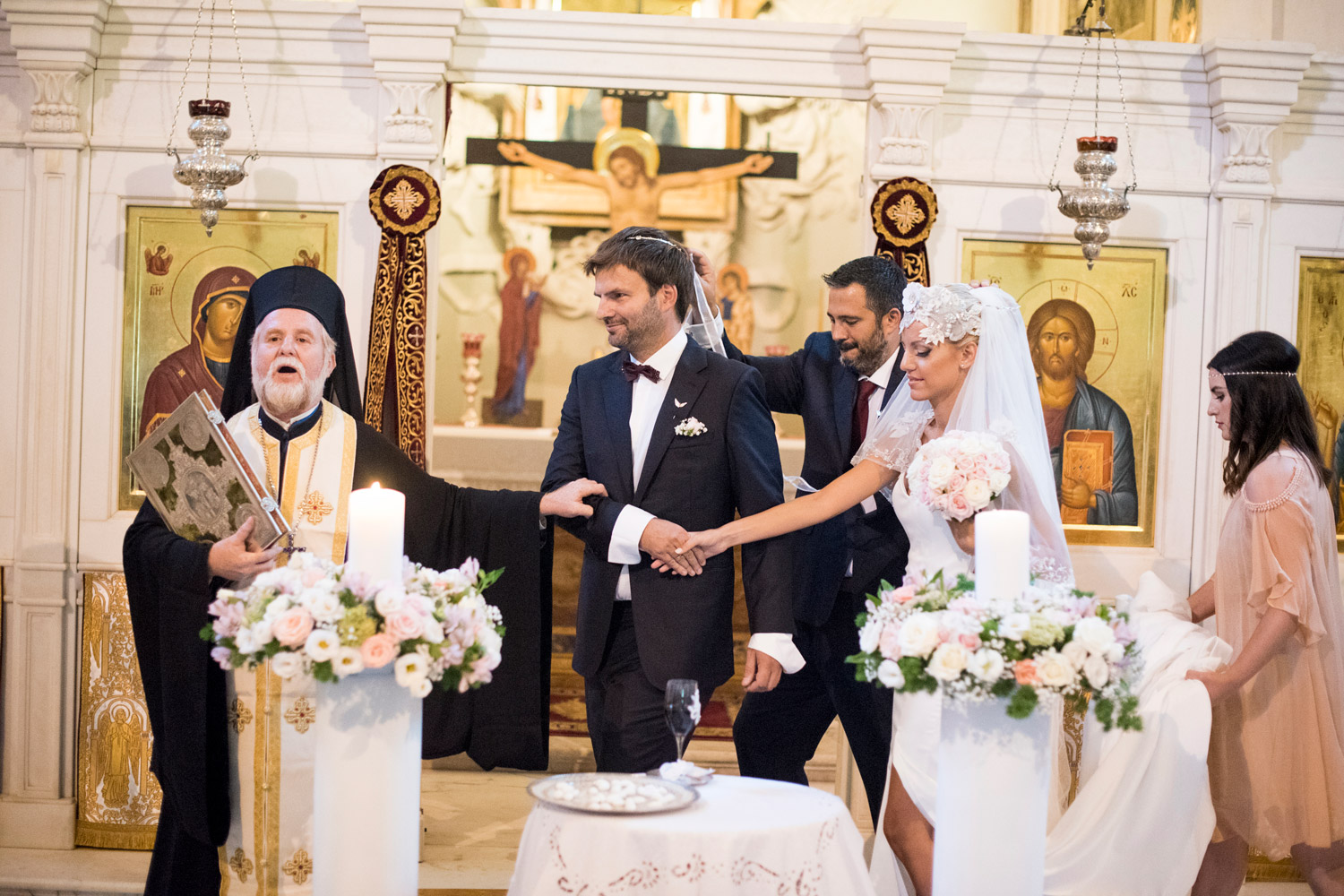Orthodox wedding Saint Theodore Rome