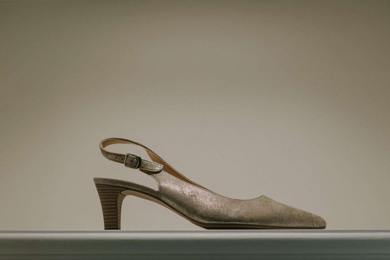 Bridal vintage shoes