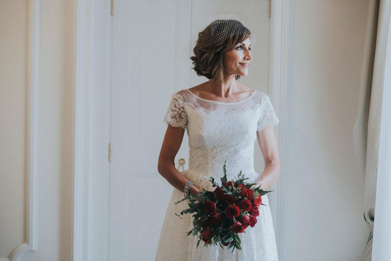 bride vintage dress