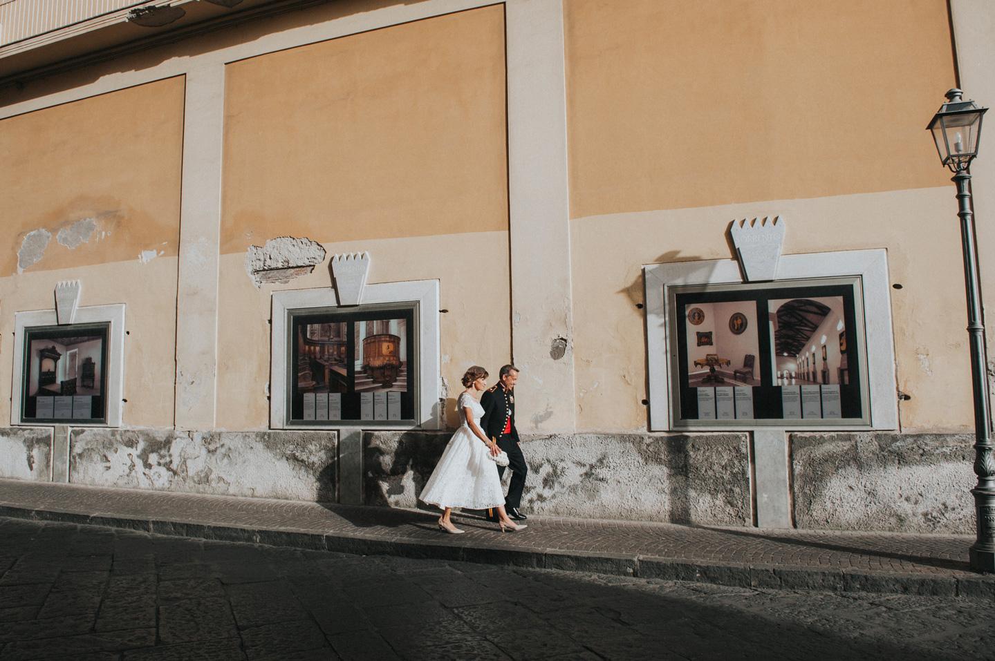 reportage wedding sorrento
